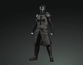 VR / AR ready The Guardian Fantasy Armor Low-poly 3D model