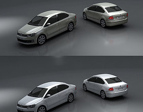 3D model Volkswagen Polo