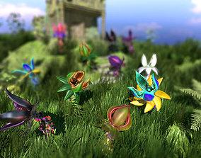 Plant Monster Pack PBR 3D asset