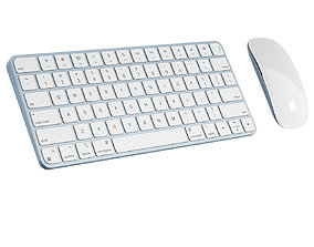Magic Mouse and Keyboard with Touch ID 2021 by 3D model 1