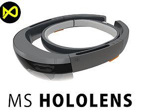 3D model Microsoft Hololens Headset