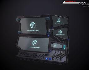 Console Terminal 3D model