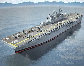 USS America LHA-6 Carrier 3D model uss