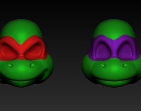Ninja Turtle Masks 3D print model