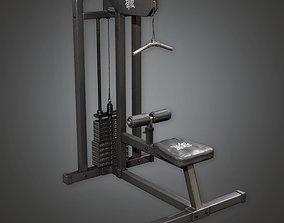 3D asset SAG - Gym Weight Lifting 02a - PBR Game Ready