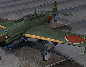 3D model Yokosuka D4Y2 and D4Y3 Suisei - aka Judy
