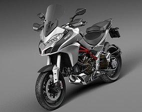 3D model Ducati Multistrada 1200 2015