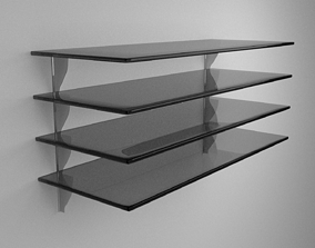 3D model Glass Shelves