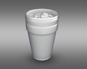 Lean Cup 3D asset