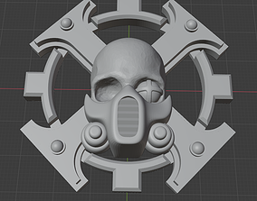 Vindicare assassin Inquisition badge 3D printable model