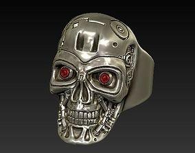 3dfile skull terminator 3D