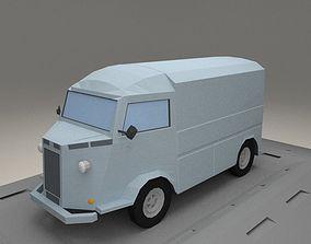 Citroen H from 1964 3D model VR / AR ready