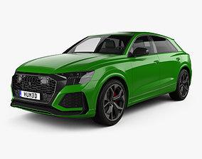 3D model Audi Q8 RS 2020