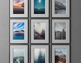 frame9 3x3 vert-50 3D model