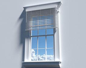 Victorian Window 3D Model game-ready