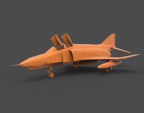 Douglas F-4 Phantom II 3D print model