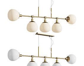Chandelier Suspension Light Erich Maytoni Modern 3D