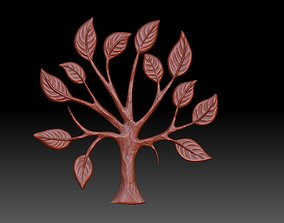 the emblem of the tree 3D print model