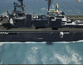 3D model Multipurpose LHD Amphibious Assault Ship