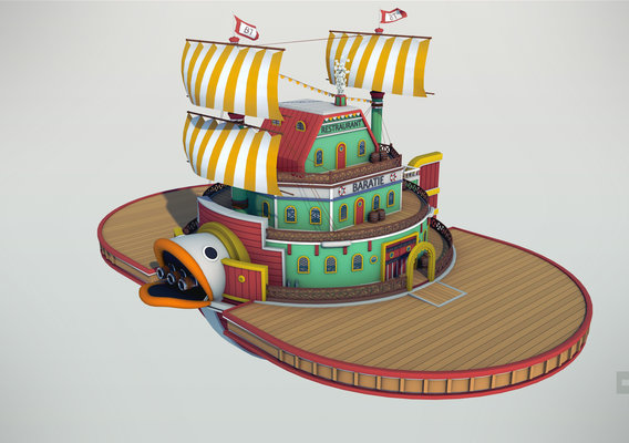 Baratie - One Piece