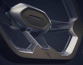 3D model Ragecraft steering wheel