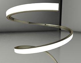 3D model Floor Lamp Mantra Helix 6102
