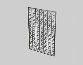 3D model Master Bedroom Room Divider