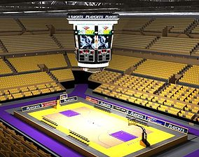 basketball stadium 3D model