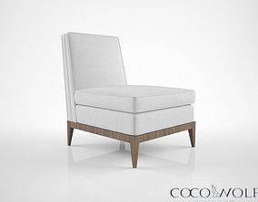 3D model Coco Wolf Taylon chair