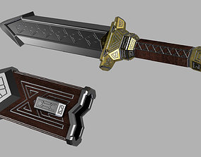 3D printable model Thorins knife from The Hobbit