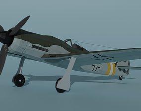 Focke-Wulf Fw 190 D-9 3D asset