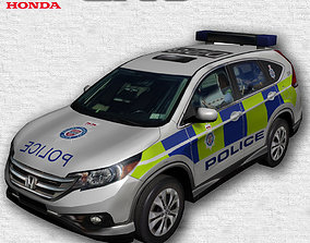 3D asset low-poly Police Livery car