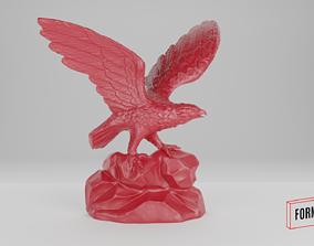 Bald Eagle 3D-scanned miniature diorama