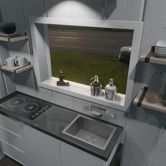 Tiny House - Gaming & Modernized THOW