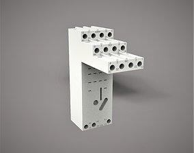 3D print model CR-M4LS base for CR-M 24PC relay
