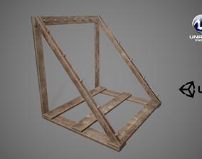 3D asset Medieval Weapon Market 01