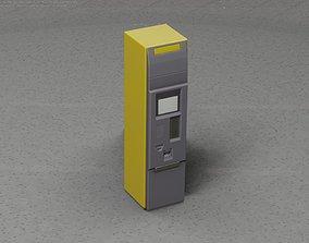 3D asset Packstation Object -2- Packstation-Interface-PC