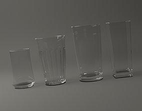 GLASSWARE---All Long Glasses 3D model