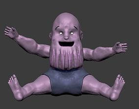 Baby Thanos movie 3D print model