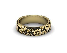 3D print model Clockwork ring