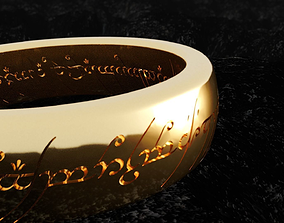 3D printable model The lord of the rings - Ring of