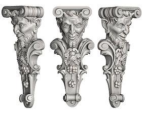 3D print model Bacchus bracket