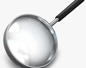 Magnifing glass 3D