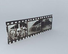 Vintage racing canvas 3D