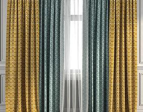 3D model Curtain Set 270