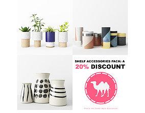 3D Shelf Accessories Pack A