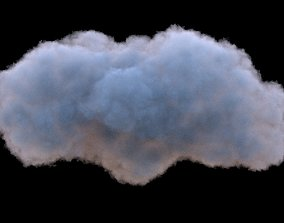 3D Cloud Pack x 6 High Res