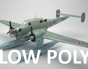 3D model RWD-22 torpedo bomber Low Poly