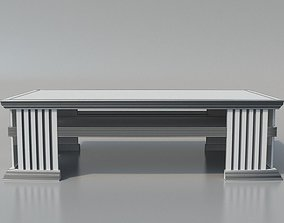 3D Elegant Coffee Table