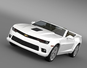 Chevrolet Camaro SS Convertible 2010 3D model